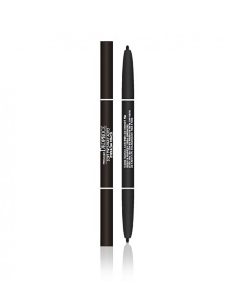 DEOPROCE PREMIUM SOFT & TWO WAY AUTO EYEBROW PENCIL карандаш для бровей #25 ( Grey Brown)