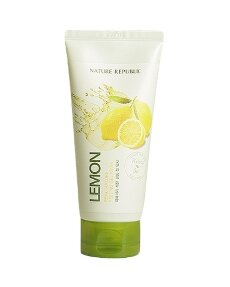 Пилинг-гель с экстрактом лимона NATURE REPUBLIC Real Nature Lemon Peeling Gel Wash