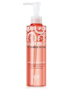 Масло-пенка с экстрактом грейпфрута G9Skin Grapefruit Vita Bubble Oil Foam