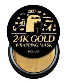 ESTHETIC HOUSE Маска для лица с 24 каратным золотом PIOLANG 24k GOLD WRAPPING MASK, 80 мл