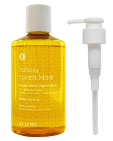 BLITHE Patting Splash Mask Energy Yellow Citrus & Honey Сплэш-Маска Для Сияния Лица