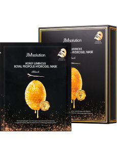 JMsolution Honey Luminous Royal propolis гидрогелевая маска
