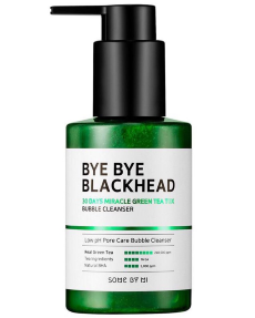 SOME BY MI Bye Bye Blackhead 30 Days Miracle Green TeaTox Bubble Cleanser Очищающая Маска-Пенка