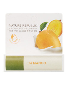 Бальзам для губ  NATURE REPUBLIC / NATURAL BUTTER LIPBALM
