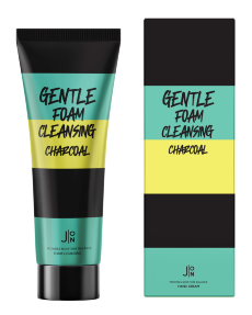 J:ON Пенка для умывания УГОЛЬ Gentle Foam Cleansing Charcoal 100 мл