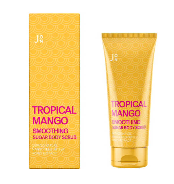 J:ON Скраб для тела МАНГО Tropical Mango Smoothing Sugar Body Scrub