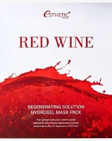 ESTHETIC HOUSE Red Wine Regenerating Solution Hydrogel Mask Pack Гидрогелевая Маска Для Лица